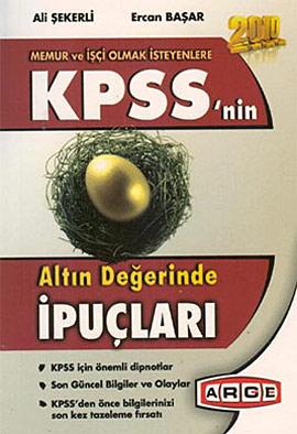 2010 KPSS'nin Altın Değerinde İpuçları