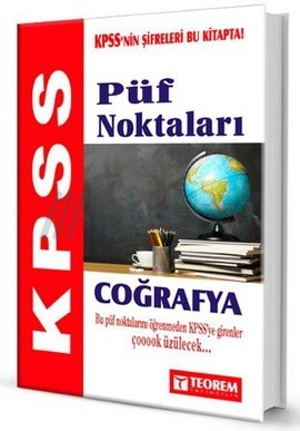 2014 KPSS Coğrafya Püf Noktaları