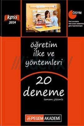 2014 KPSS Öğretim İlke ve Yöntemleri Tamamı Çözümlü 20 Deneme