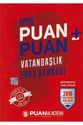 2016 KPSS Puan Puan Vatandaşlık Soru Bankası