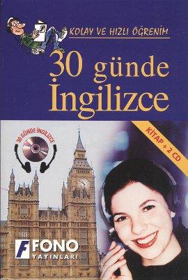 30 Günde İngilizce (Kitap + 2 CD)