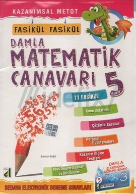 5. Sınıf Fasikül Fasikül Damla Matematik Canavarı