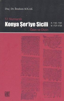 51 Numaralı Konya Şer'iye Sicili