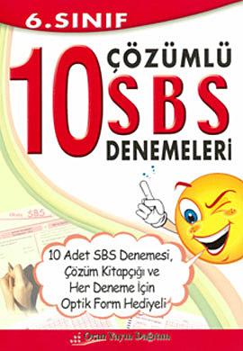 6. Sınıf 10 Çözümlü SBS Denemeleri
