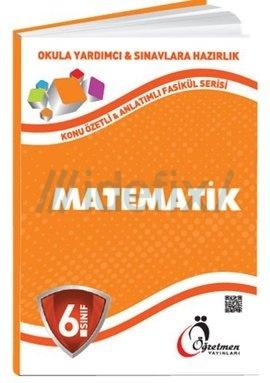 6. Sınıf Matematik Konu Anlatımlı Fasikül Serisi