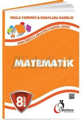 8.Sınıf Matematik Konu Anlatımlı Fasikül Serisi