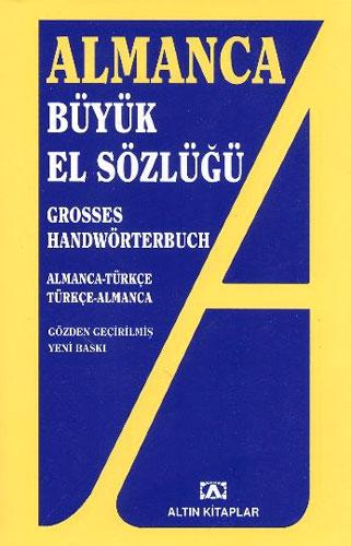 Almanca Büyük El Sözlüğü