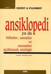 Ansiklopedi ya da Bilimler, Sanatlar ve Zanaatlar Açıklamalı Sözlüğü