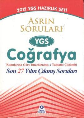 Asrın Soruları YGS Coğrafya 2012