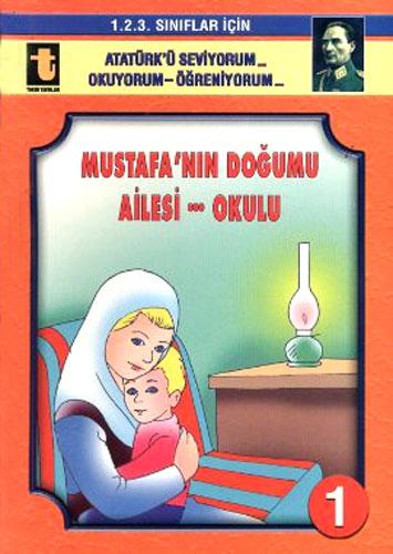 Atatürk'ü Seviyorum - Okuyorum - Öğreniyorum - 1.2.3. Sınıflar İçin 12 Kitap Takım