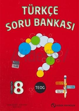 Aydan 8. Sınıf Teog Türkçe Soru Bankası 2016