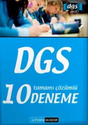 Dgs 2013 Tamamı Çözümlü 10 Deneme