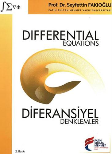 Differential Equations - Diferansiyel Denklemler
