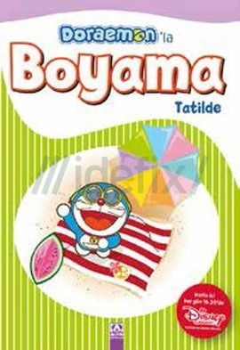 Doraemon'la Boyama Tatilde