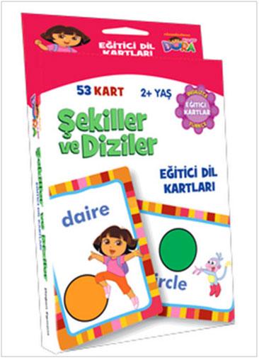 DoraŞekiller Ve Diziler (Eğitici Dil Kartları)