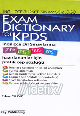 Exam Dictionary For KPDS