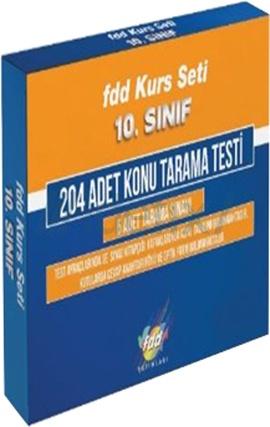 FDD 10. Sınıf Kurs Seti