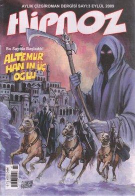 Hipnoz Aylık Çizgi Roman Dergisi Sayı: 3