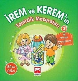 İrem ve Kerem'in Temizlik Maceraları 3