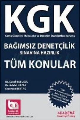 KGK Bağımsız Denetçilik Sınavlarına Hazırlık Tüm Konular