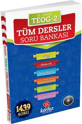 Körfez 8. Sınıf TEOG2 Tüm Dersler Soru Bankası  Çözüm Dvd'li