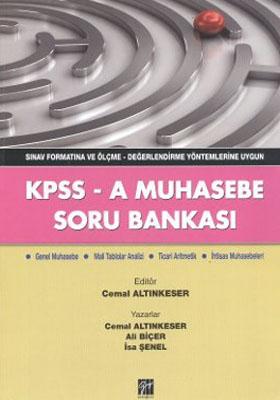 KPSS-A MUHASEBE SORU BANKASI