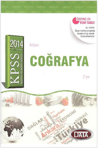 KPSS Coğrafya Konu ve Soru Serisi 2014