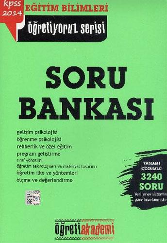 KPSS Eğitim Bilimleri Öğretiyoruz SerisiSoru Bankası