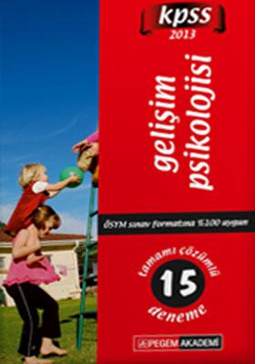 KPSS Gelişim Psikolojisi Tamamı Çözümlü 15 Deneme 2013