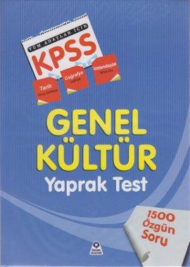 KPSS Genel Kültür Tüm Adaylar İçin