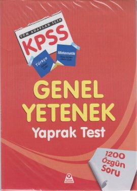 KPSS Genel Yetenek Tüm Adaylar İçin