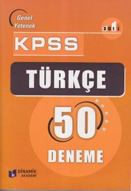 KPSS Türkçe 50 Deneme