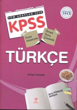 KPSS Türkçe Tüm Adaylar İçin 2012