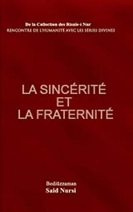 La Sincerite Et La Fraternite