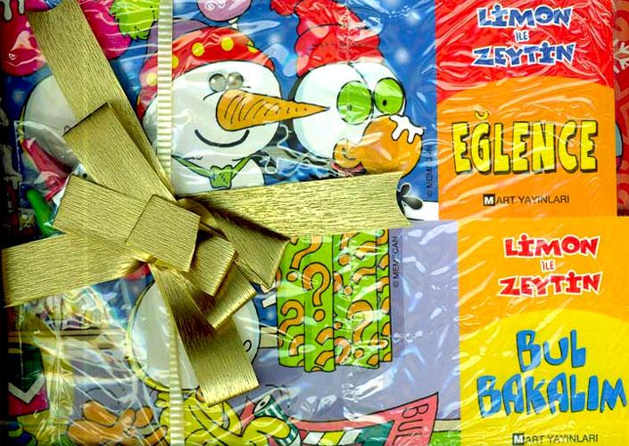 Limon ile Zeytin, Eğlence, Bul Bakalım / 2 Kitap - 1 Oyun