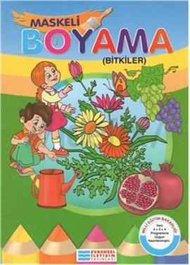 Maskeli Boyama Bitkiler
