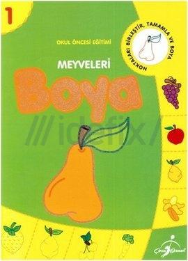 Meyveleri Boya