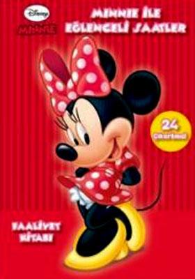 Minnie ile Eğlenceli Saatler (6 Yaş ve Üzeri Faliyet Kitabı)