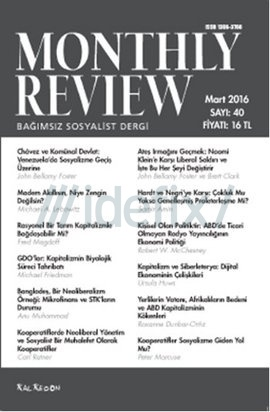 Monthly Review Sayı