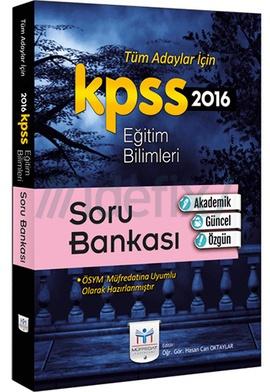 Müfredat 2016 KPSS Eğitim Bilimleri Soru Bankası