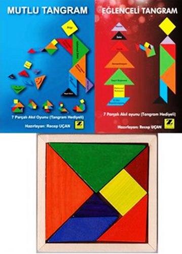 Mutlu Tangram - Eğlenceli Tangram Seti  Parça Tangram Hediyeli