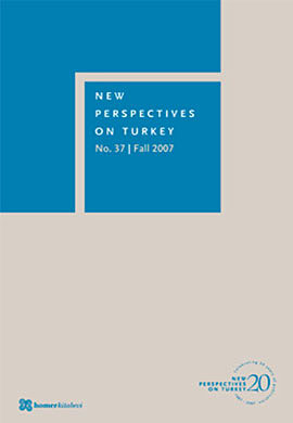 New Perspectives on Turkey No: 37