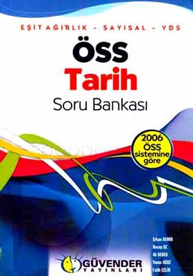 Öss Tarih Soru Bankası / Eşit Ağırlık - Sayısal - Yds