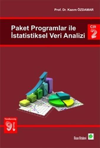 Paket Programlar ile İstatistiksel Veri Analizi-Cilt 2