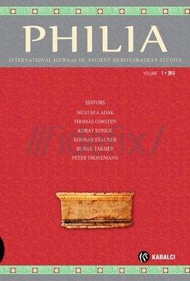Philia Dergisi Sayı 1