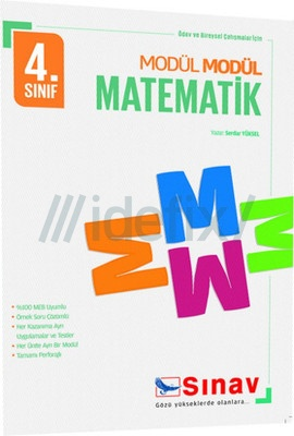 Sınav 4. Sınıf Modül Modül Matematik