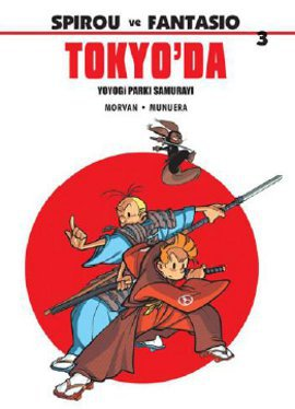 Spirou ve Fantasio 3: Tokyo'da
