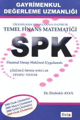 SPK Gayrimenkul Değerleme Uzmanlığı