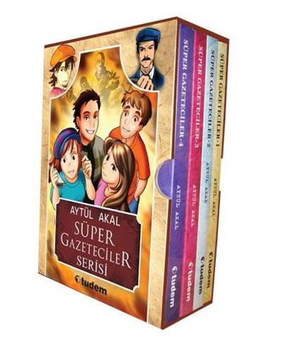 Süper Gazeteciler Serisi - 4 Kitap Takım