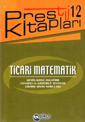 Ticari Matematik / Prestij Kitapları 12